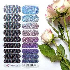 Bejeweled and Rising Star Holographic Nail Wraps